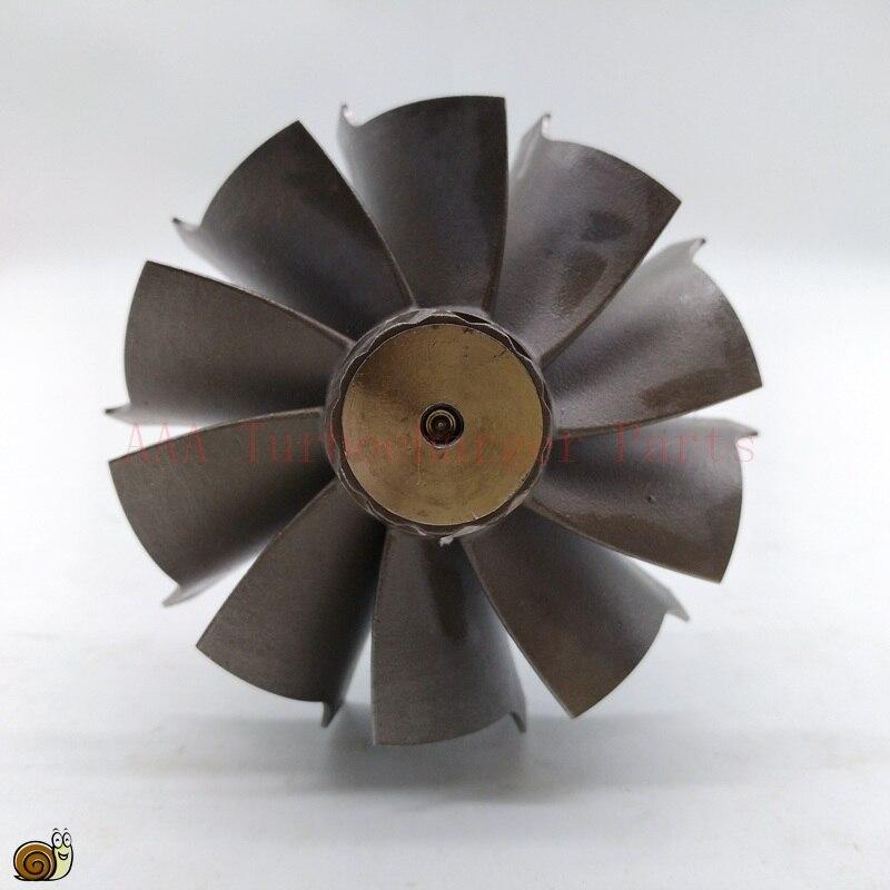 Piezas Turbo HX40/HX40W/H1C rueda de turbina 67mm * 76mm-10 cuchillas, proveedor AAA piezas de turbocompresor