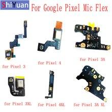 For Google Pixel 4 XL 4XL Mic Flex Cable Microphone Module For HTC Google Pixel 3 3XL Pixel 3A XL Microphone Replacement Parts