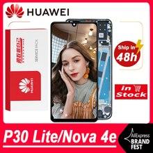 100% тестирование 2312*1080 дисплея Замена для Huawei P30 Lite/Nova/4e ЖК дисплей с сенсорным экраном дигитайзер в сборе MAR LX1 LX2 AL01