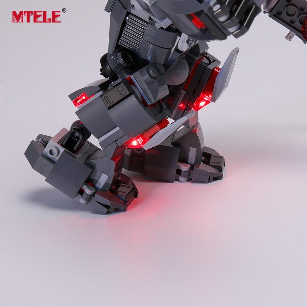 Купить с кэшбэком MTELE LED Light Kit for 76124 , NOT INCLUDE THE MODEL