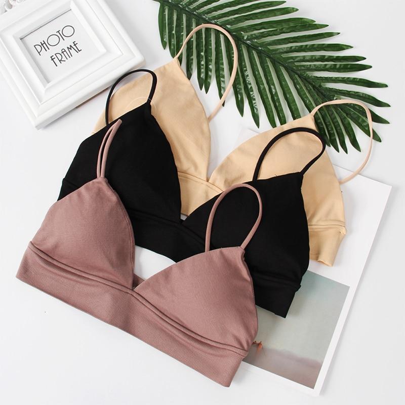 2020 New Sexy Bra Women Underwear Bras Bralette Push Up Bra Lingerie Cotton Strapless Plus Size Bras For Women Top Pushup B0047