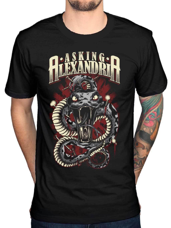 Футболка с надписью «asing Александрия Posion», «Afterlife Monster Reckless retenless», 100% хлопок, новинка, футболки, топ, футболка