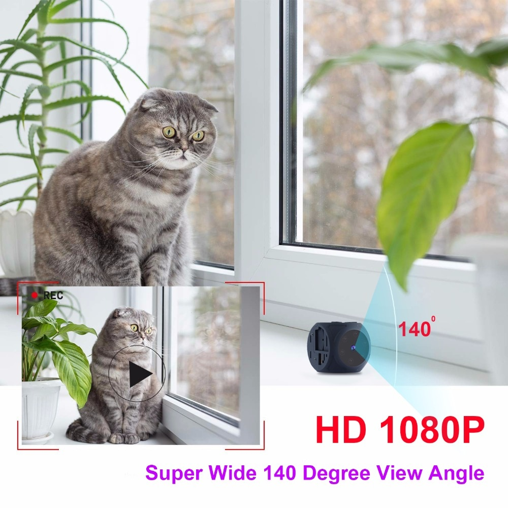 Mini Camera Full HD Video 1080P DV DVR  Micro Cam Motion Detection With Infrared Night Vision Camcorder support hidden TF card enlarge