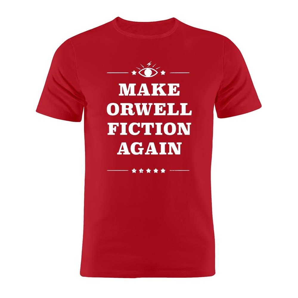 100% Katoen Unisex T-shirt 1984 Make Orwell Fiction Weer George Orwell Grappige Kunstwerk Tee
