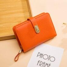 Billeteras de diseñador de cuero genuino, billetera de moda para mujer, bolso de dinero, bolsillo para teléfono móvil, bolso largo de lujo para mujeres 6915