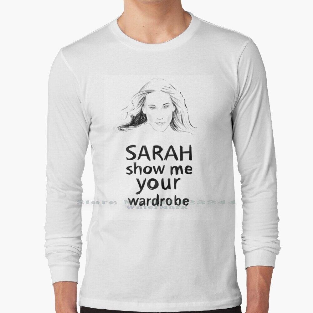 Sarah Long Sleeve T Shirt Tee Sarah Parker Fashion New York