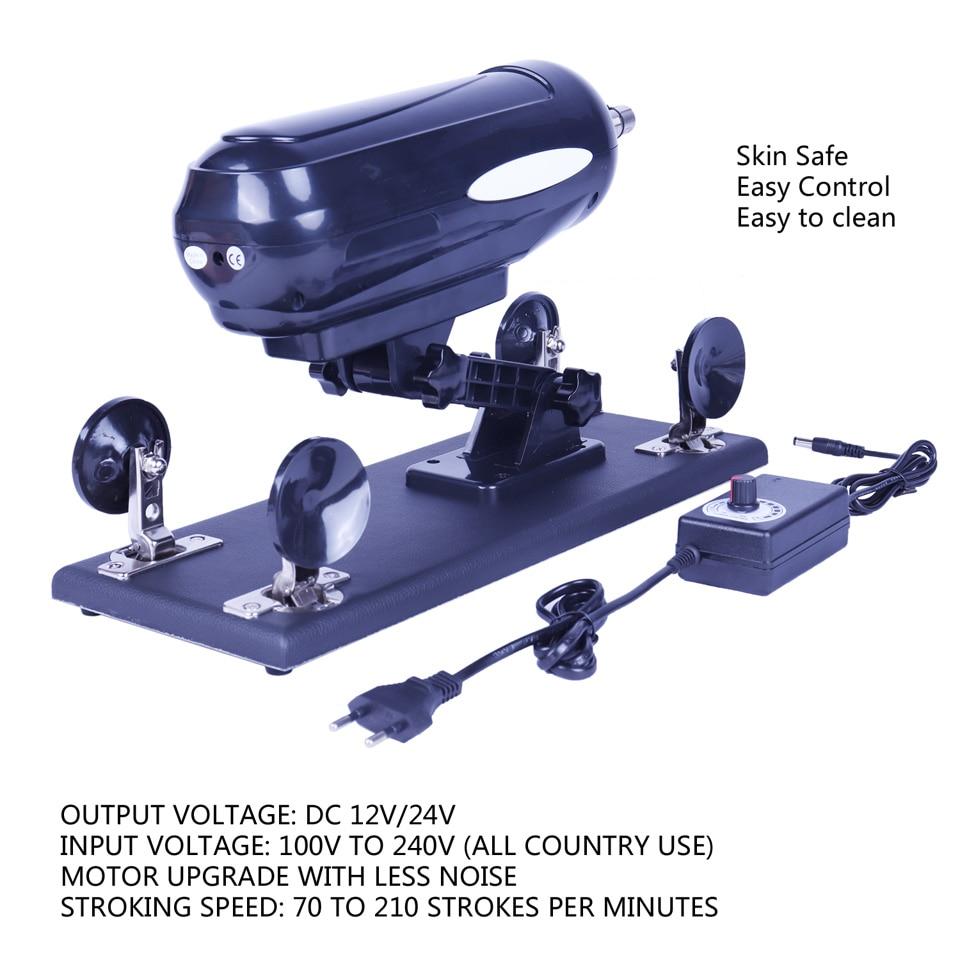 FREDORCH Updated version Sex Machine Gun with Big Dildo, Automatic Sex Machines for women, love machine with 8 Accessories enlarge