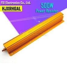 500W Dalimentation En Aluminium En Métal Coque Bobinée 0.1R ~ 500R 0.1 0.5 1 2 4 5 8 10 50 100 500 ohm