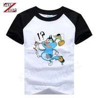 new short sleeve t shirt for boys oggy and cockroaches summer t shirt for boys and girls short sleeve t shirt 2020 summer
