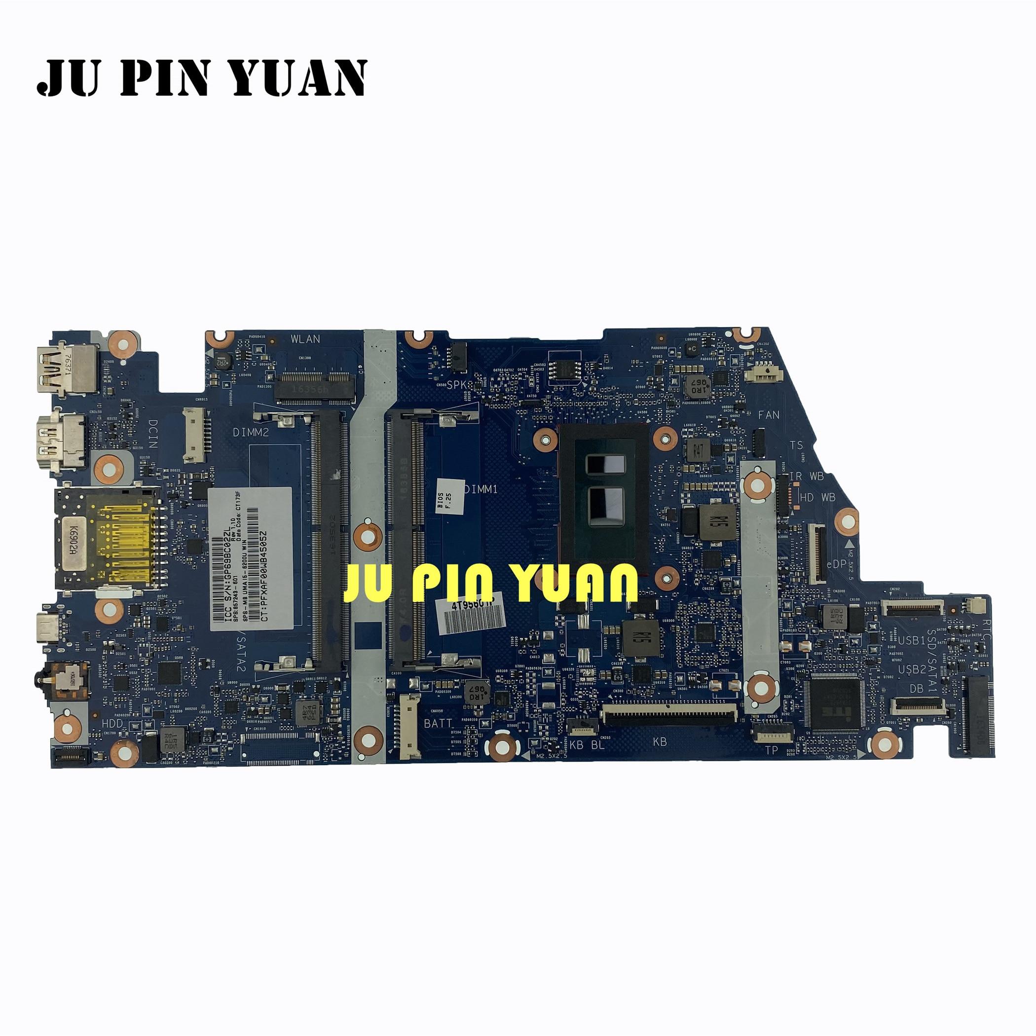 لوحة أم 857243-001 للكمبيوتر المحمول HP ENVY اللوحة الأم 15-AS 15T-AS 857243-601 857243-501 مع I5-6200U تم اختبارها بالكامل