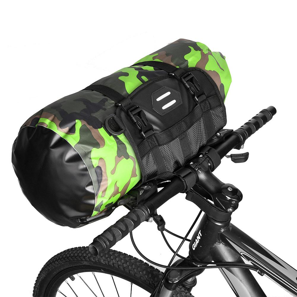 NEWBOLER sac de vélo grande capacité étanche Tube avant sac de cyclisme vtt guidon sac avant cadre coffre sacoche vélo accessoires
