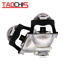 TAOCHIS 2.5 Inch WST Mini Headlight Bi xenon Projector Len H4 H7 Socket For DIY Retrofit Lamp Motorcycle High Low Beam H1 HID