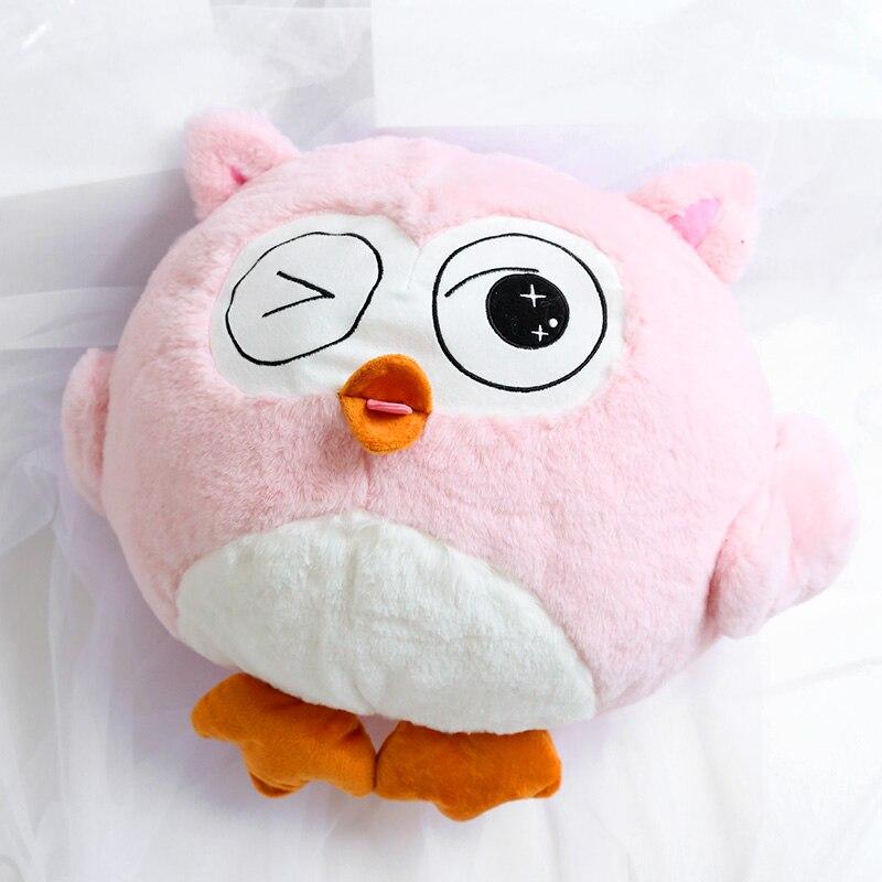 Сова игрушка Сова 2 In 1 Сова Мягкая игрушка с одеялом Подушки в виде совы, игрушка Pollwo с одеялом, плюшевая Сова 2 в 1, мягкие куклы-животные, авто...