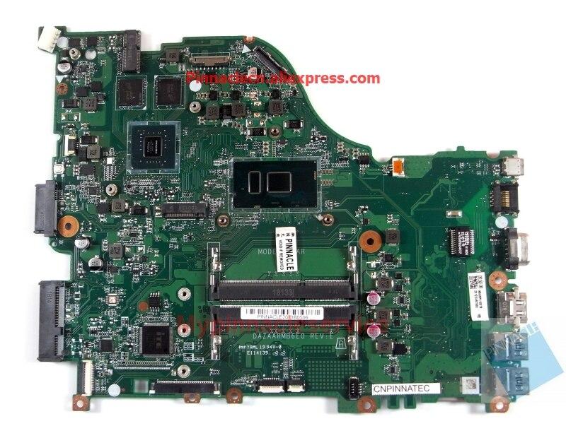NBGRR11007 I5-7200U placa madre para Acer Aspire E15 E5-576G E5-576 DAZAARMB6E0