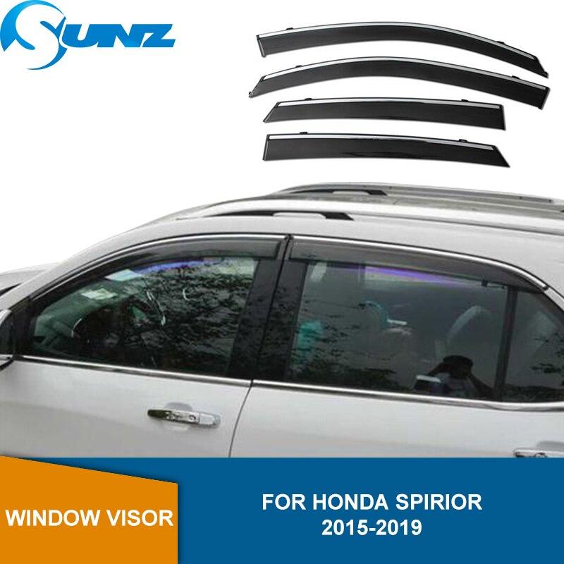Side Window Deflector For  Honda Spirior 2015 2016 2017 2018 2019  Smoke Window Visor Sun Rain Deflector SUNZ