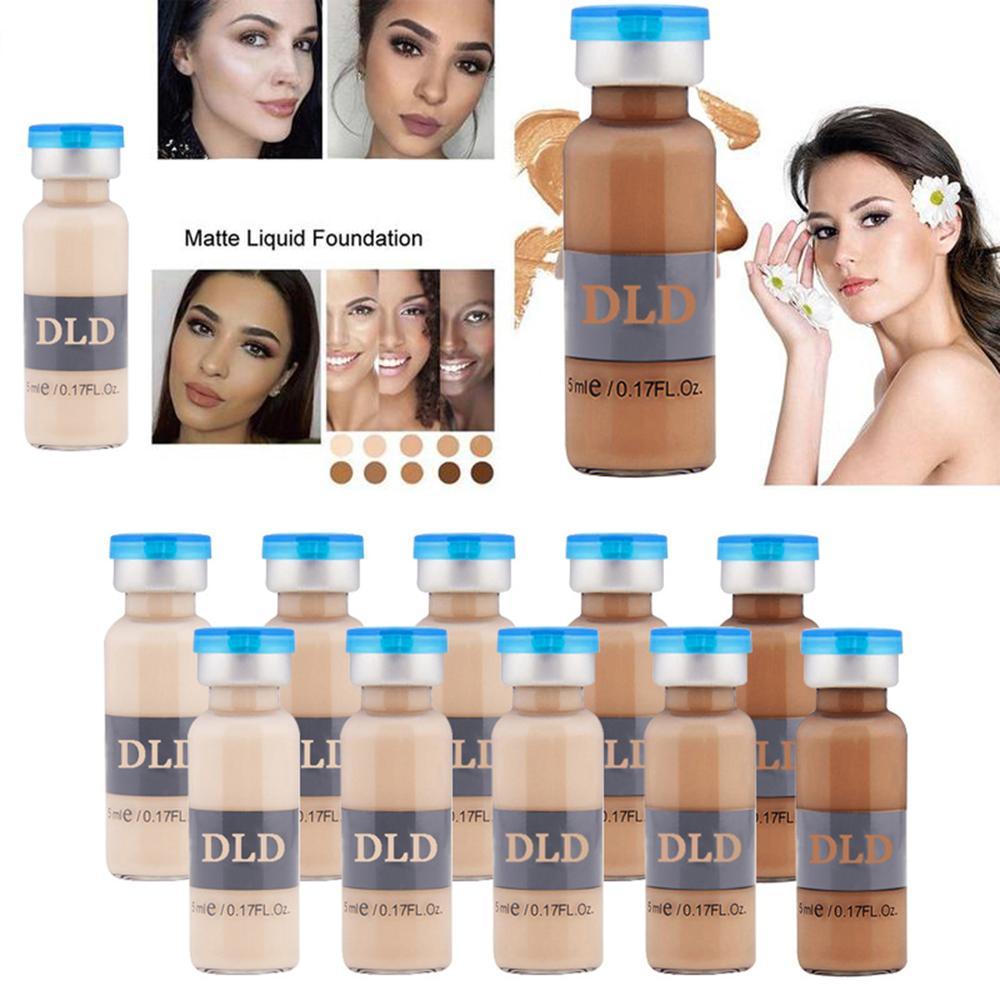 50pcs 5ml Whitening Serum BB Cream Glow Meso Brightening Serum BB Cream foundation Beauty Salon Cosmetic Makeup Liquid Foundatio