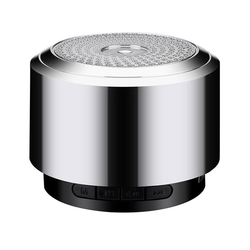 Mini Altavoz Bluetooth USB colorido Led luz inalámbrica portátil caja de música Subwoofer altavoz pequeño con luces cambiantes