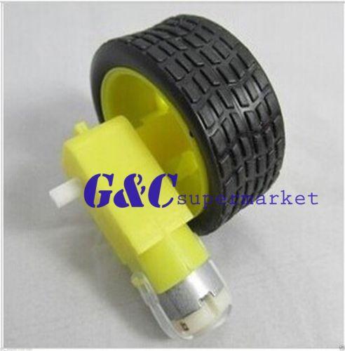 2 шт умный автомобиль робот Plaic re колес�