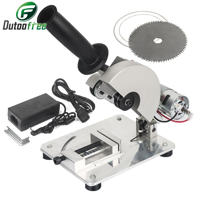 آلة قطع سبائك الألومنيوم الصغيرة ، منشار كهربائي ، آلة قطع الألومنيوم ، الفولاذ المقاوم للصدأ ، النحاس ، DIY