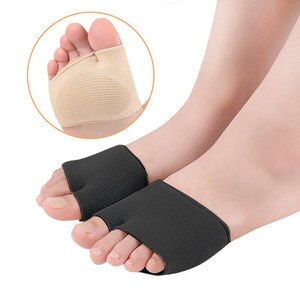 2Pcs Bunion Corrector Gel Pad Stretch Nylon Hallux Valgus Protector Guard Toe Separator Front Palm Pad Orthopedic Supplies