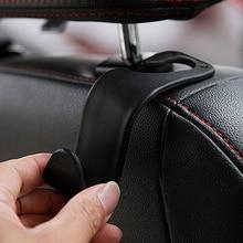 1pcs Car Seat Truck Coat Hook Purse Bag Hanging Hanger Bag Storage Organizer Holder Gadget Interior