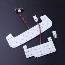 Carro 3 pçs led lâmpada de leitura interior cúpula mapa luz apto para suzuki jimny jb64 jb74w 2019