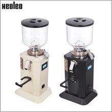 XEOLEO Household Electric Coffee grinder 1.5L Espresso coffee grinder 350W Flat whetstone Coffee miller Adjustable Coarse Fine