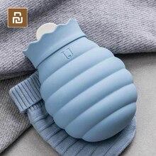 Youpin 2-in-1 Kalt Warmwasser Tasche Mikrowellen Silikon Tasche Winter Hand Füße Wärmer Mehrweg Eis Tasche kalten Therapie Schmerzen Relief Tasche