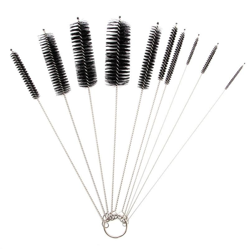 carburetor carbon dirt jet remove 10 cleaning needles 5 brushes tool kits 10 Cleaning Needles+5 Brushes Tool For Suzuki Carburetor Carbon Dirt Jet Dry New