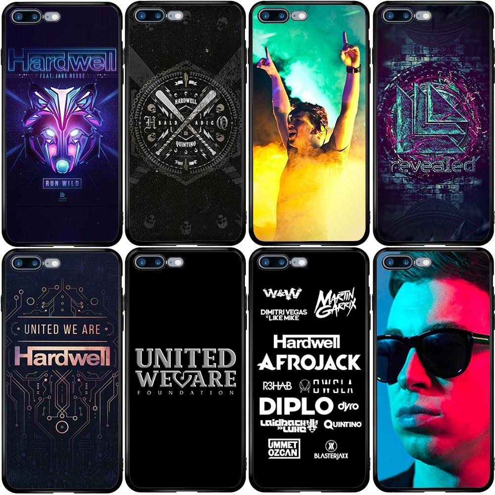 Hardwell DJ Electro funda para Xiaomi Redmi Note K30 K20 Nota 9 8T 7 7A 6 6A 5 4 4A Pro Plus