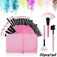 new women beauty fashion blusher tool foundation brush eyeshadow contour makeup brushes set cosmetic applicator