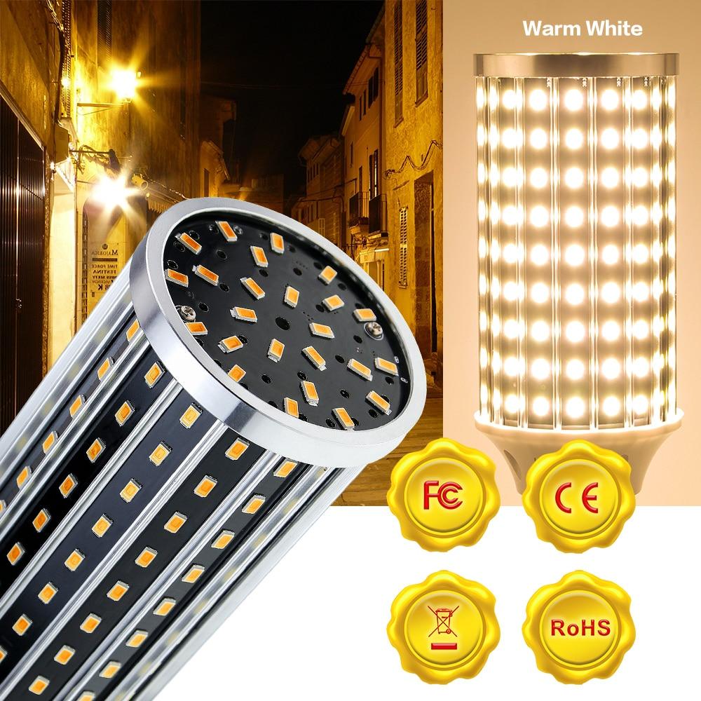 Фото - Светодиодная лампочка E27, светодиодная лампа 50 Вт, лампочка-кукуруза 220 В, светодиодсветильник лампочка 110 В, светодиодсветильник лампочка E39... лампочка