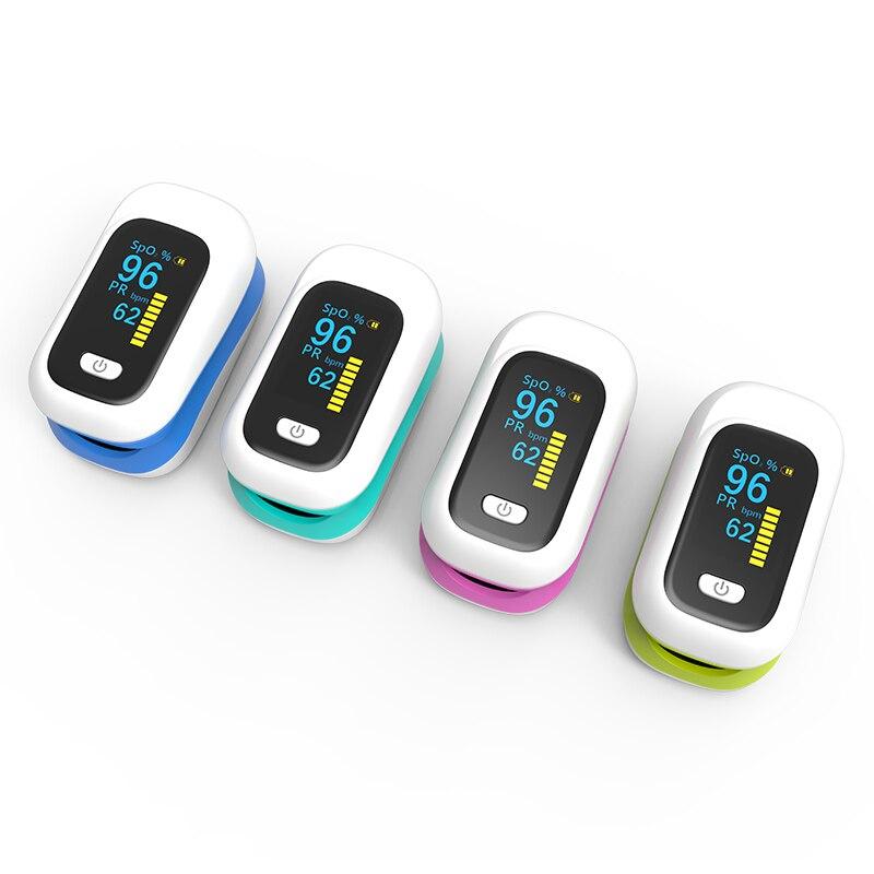 Household Fingertip Pulse Oximeter Digital OLED Oxymeter De Dedo Oximetro SpO2 Health Monitor Blood Oxygen Saturation Meter