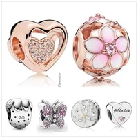 original 925 sterling silver 2020 limited edition strawberry charm beads fit women pandora bracelet necklace jewelry