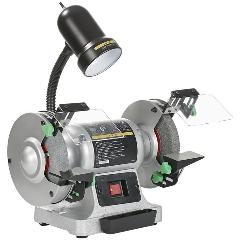 BG1500R مقعد طاحونة شحذ بت 220 فولت الصغيرة الصناعية الصف آلة تلميع السلس الصامت 6 بوصة 150 مللي متر