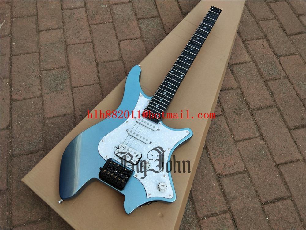 New Headless Electric Guitar,Mahogany Body&Normal 24 Frets Rosewood Fingerboard Fixed Bridge BJ-392 391