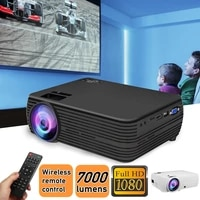 X5 LCD projecteur 1080p HD multimedia Home cinema 7000 Lumens LED cinema Portable Home cinema intelligent
