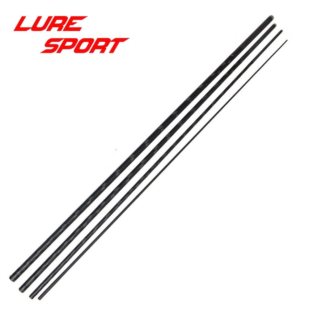 LureSport 2,1 м, 4 секции, 2,4 м, 5 секций, удочка для путешествий Toray X Cross, карбоновая удочка без рисунка, силовая удочка, Строительные Компоненты для ремонта, сделай сам