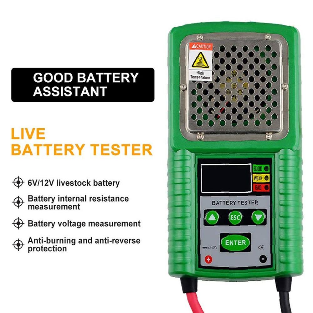 HP-226A тест на автомобильную батарею er система зарядки Тест на батарею рабочая нагрузка, внутреннее сопротивление для батареи вольт, емкость ...
