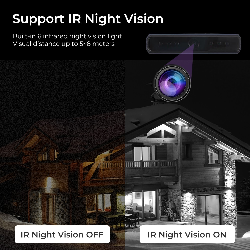 1080P Mini wifi Camera Power Bank Camera 4K Infrared Night Vision Motion Detection Recorder Wireless Charging Micro Camera enlarge