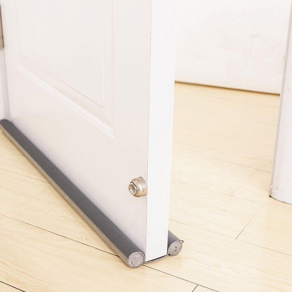 Fuerte a prueba de viento de reducción de ruido insonorizadas Protector aislante proyecto el tapón de la puerta Flexible Anti-Polvo de sellado inferior de la ventana
