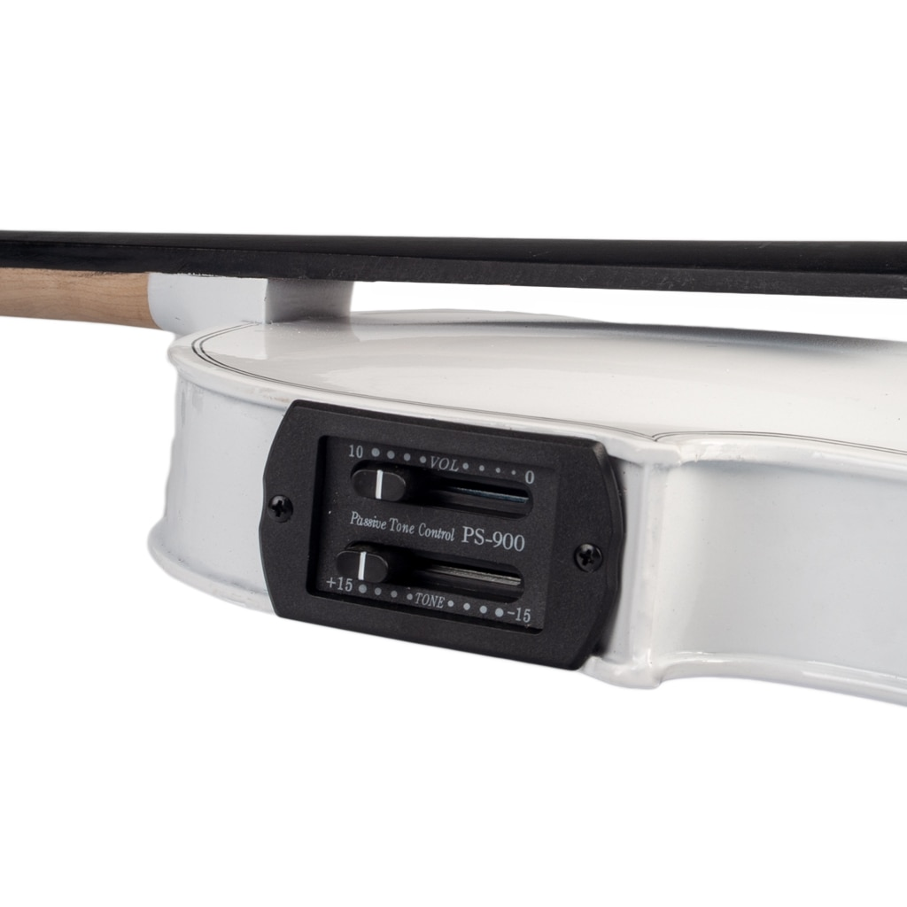 NAOMI Acoustic Violin Set With EQ Installation Solidwood 4/4 Fiddle w/ Brazilwood Bow+Audio Cable+Rosin+Violin Case enlarge