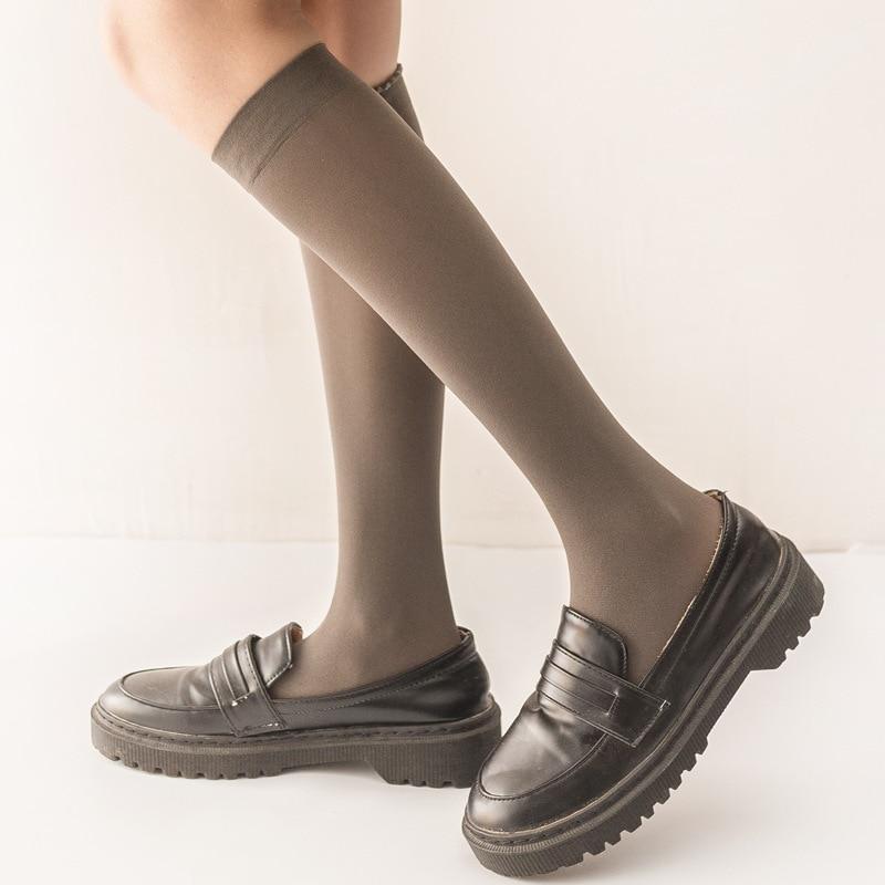 Jeseca Japanese Kawaii Cute Stockings College Style School Students Long Stocking 2019 Autumn Winter Girls Sweet Lower Knee Sox