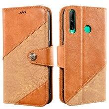 Étui à rabat pour Huawei P40 Lite E livre en cuir étui portefeuille magnétique antichoc étui de téléphone sur Huawei P40 Lite E couverture 360 coque