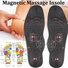 1 Pairs Terapia Magnetica Sottopiedi di Massaggio per i piedi Unisex Perdita di Peso Promuovere La Circolazione del Sangue Del Piede Magnete Salute E Bellezza Rilievi del Pattino