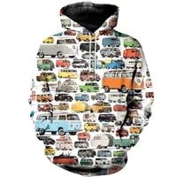 beautiful car 3d print hoodie man women zipper pullover sweatshirt casual unisex jacket style c 452