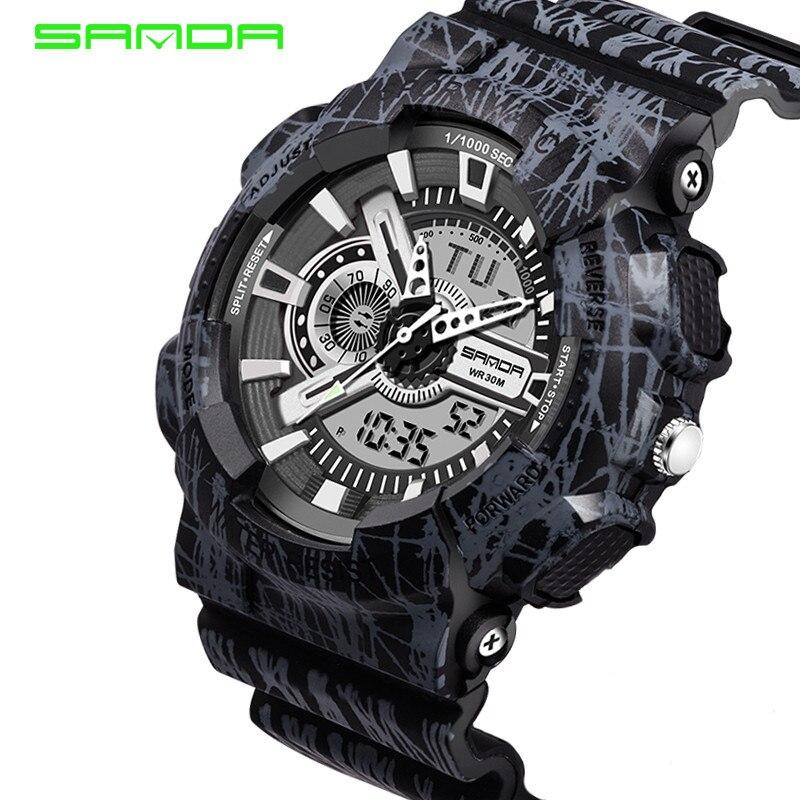 SANDA new brand watch orologio uomo часы женские наручные часы мужские relojes para hombre relojes para mujer watch reloj hombre