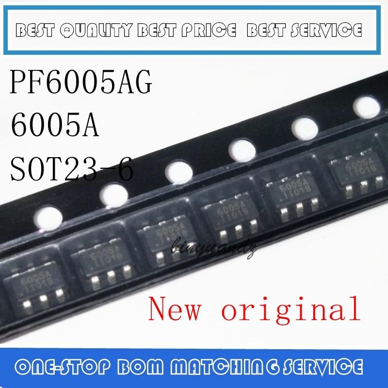 2 pces 20 20 pces original novo pf6005 pf6005ag SOT23-6 chip de gerenciamento de energia