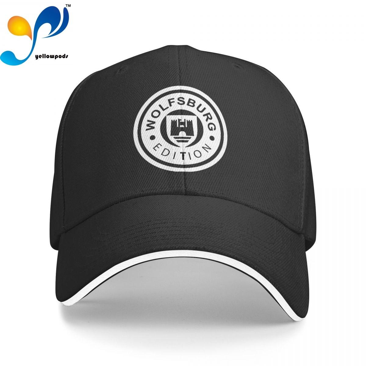 Бейсбольная кепка с логотипом изделия Wolfsburg, регулируемые бейсболки унисекс, шапки с клапаном для мужчин и женщин