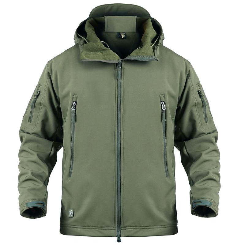 Мужская камуфляжная куртка в стиле милитари, тактическая осенне-зимняя куртка в стиле армии США